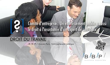 Comité d'entreprise et expert comptable - Avocat Paris