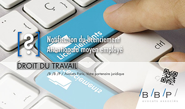 Notification du licenciement