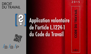 Article L. 1224-1 du code du travail - Avocat droit du travail Paris